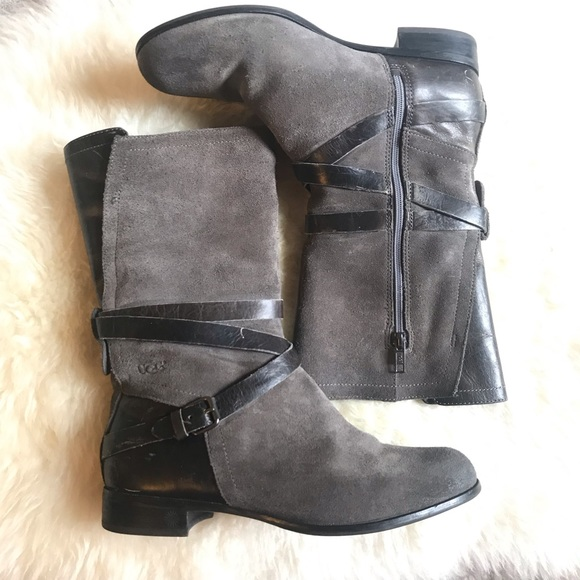 62b8376f257 Ugg Deanna Suede Mid-calf Boots